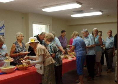 A time of Fellowship and Food